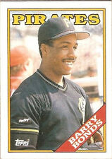 1988 Topps Tiffany Barry Bonds Pittsburgh Pirates #450 Baseball Card