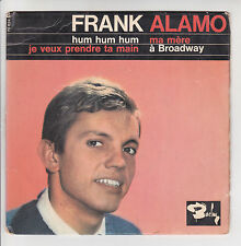 "Frank ALAMO  Vinyl 45 tours EP 7"" HUM HUM HUM - A BRODWAY - BARCLAY 70624 RARE"