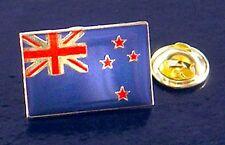 Émaillé Nouvelle-Zélande Drapeau Insigne de Goupille Revers / Épingle Cravate