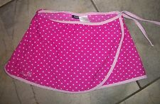 805   IZOD Pink Polka Dot Swim Suit bottoms with Skirt Cover Up 5