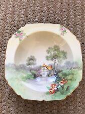 "Vintage Noritake Japan Bowl - hand painted - 9"""