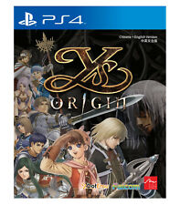YS ORIGIN PlayStation PS4, 2017, Multi-Language Factory Sealed