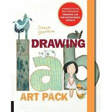 Drawing Lab Art Pack: A Fun, Creative Exercise Book & Sketchpad  Burst: Adapted