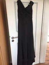 NEU Abendkleid Schwarz Gr. L mit Schleppe