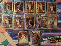 (12) 2019-20 Hoops Premium Stock RJ BARRETT Pulsar Prizm LOT 12X NY Knicks RC