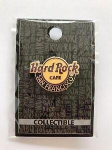 Hard Rock Cafe HRC SAN FRANCISCO Classic / New Logo Pin w/ pin back card NIP