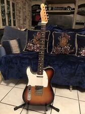 1990 Left Handed Sunburst Japanese Fender Telecaster Custom Guitar