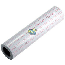 10 Rolls X 500 Tags Price label Marker Paper Refill For Mx-5500 Price Gun White