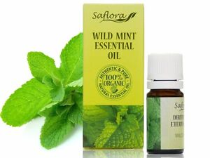 WILD MINT ESSENTIAL OIL 5 ml | 100% Pure, Organic, Therapeutic & Food Grade