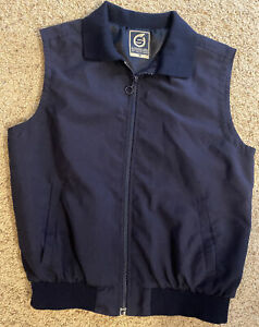 SUNDERLAND of Scotland Women's Navy Full Zip Vest Jacket  Size M
