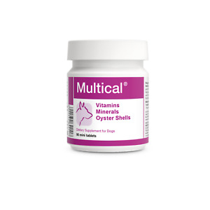 Multical 90 mini tablets Vitamins Minerals Calcium for small DOG breeds