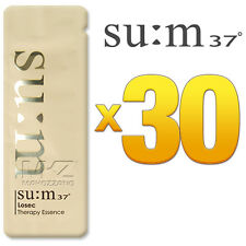SU:M37 Losec Therapy Essence 30pcs Serum Anti-Aging Anti-Wrinkle SUM37 + Gift