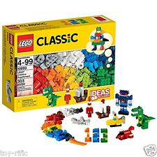 LEGO CLASSIC 10693 CREATIVE SUPPLEMENT BOX 20 COLOURS 300+ PIECES - BRAND NEW!