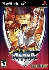 Street Fighter Alpha Anthology  PlayStation 2 Brand New Factory Sealed