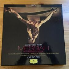 DGG: 2720 069 Handel: Messiah. 3 LP boxset. Karl Richter. German. NM/NM.