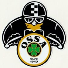 Sticker OSSA biker