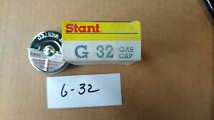 "Buick 1964-66 NOS Fuel Gas Cap w/ Original ""S"" Logo on Cap Stant G-32 made in US"