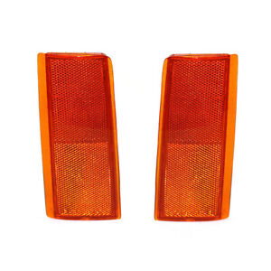 NEW PAIR OF SIDE MARKER LIGHTS FIT GMC C1500 C2500 SUBURBAN GM2556101 5974342