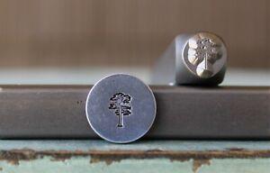 SUPPLY GUY 6mm Tree Metal Punch Design Stamp SGCH-402