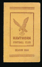 1966 Hawthorn Football Club Membership Season Ticket  Hawks