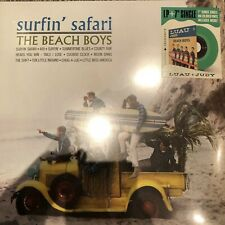 "BEACH BOYS ""SURFIN' SAFARI"" VINYL LP + 7"" COLOURED VINYL -  NEW + SEALED"