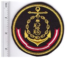 RUSSIAN MILITARY SLEEVE PATCH BLACK SEA FLEET OFFICIAL INSIGNIA NAVY EMBROIDERED