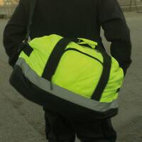 Yoko Hi Vis Seattle holdall Waterproof Bag Work School Travel Gym Holiday Duffle