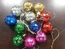 Décorations de sapin de Noël Boule multicolore