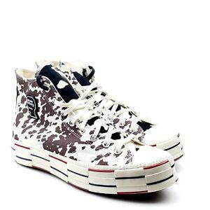 Converse Chuck 70 High Men's Brain Dead Cow Sneaker White Black Brown 169946C
