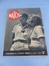 Revue MATCH du 3 août 1939 TYRON POWER et ANNABELLA VICHY DALAI LAMA