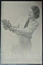 1936 ZEISS IKON CAMERAS & Acc. CATALOGUE-1983 Ltd Ed-Kolibri/Tropical Adoro/Ergo