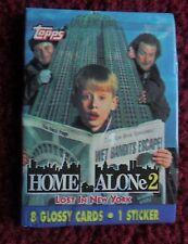 Unopened Pack HOME ALONE II Movie Trading Cards ~ Macaulay Culkin Joe Pesci