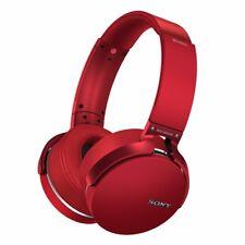 Sony XB950B1 Extra Bass Headband Wireless Headphones - Red