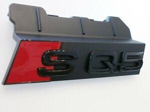"""Original Audi / SQ5  /  Emblem """" SQ5""""   schwarz glänzend  Grill  80A071805"""