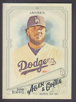 Topps - Allen & Ginter 2018 - Base # 197 Kenley Jansen - Los Angeles Dodgers