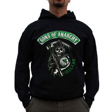 Officially Licensed Sons of Anarchy Ireland Big & Tall 3XL, 4XL, 5XL Hoodie