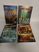Lot of 4 James Dashner Maze Runner Series Large Paperback Book Lot 1-3 & Prequel