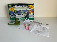 Micro Machines Air Squadron Boxed - Working - Incomplete Missing Pieces