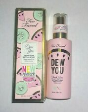 Too Faced Dew You Setting Spray Watermelon Dew - Full Size - New in Box
