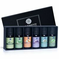 LAGUNAMOON™ Top 6 Pure Aromatherapy 10ml Essential Oils Gift Set