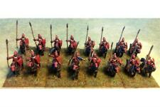 15mm Fantasy Vampirian Lancers with Shields on Lightly Armored Horse (16 figs)