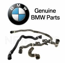 BMW F01 F02 750i 750Li Set of 3 Turbocharger Intercooler Coolant Hose Genuine