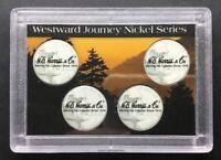 "2005 Commemorative Nickel - Westward Journey Series -2"" X 3"" Plastic Coin Holder"