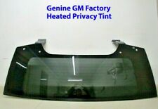 New 15 to 19 Oem Factory Tahoe Suburban Yukon Escalade Privacy Back Glass