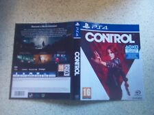 CONTROL PS4 Replacement Box Art Sleeve/ Inlay  Only Reproduction
