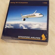 Singapore Airlines B787-10 1:500 scale