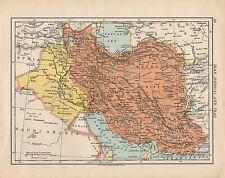 1925 MAP ~ IRAN PERSIA & IRAQ ~ KHURASAN KUHISTAN KERMAN