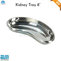"""Professional Surgical Kidney Tray 8"""" Dish Basin Emesis Dentistry Lab Instrument"""