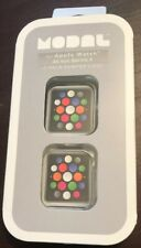 Modal- Bumper for Apple Watch44mm (2-Pack) - Clear/Space Gray