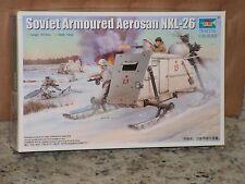 TRUMPETER #02321 1/35  SOVIET ARMOURED AERSAN NKL-26 OPEN/FSI
